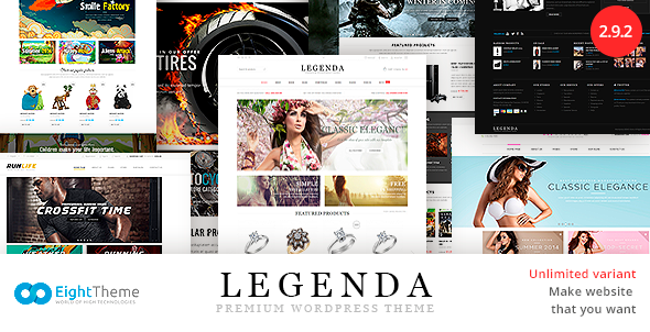 Legenda WP Theme