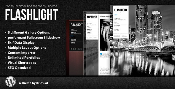 flashlight wp theme