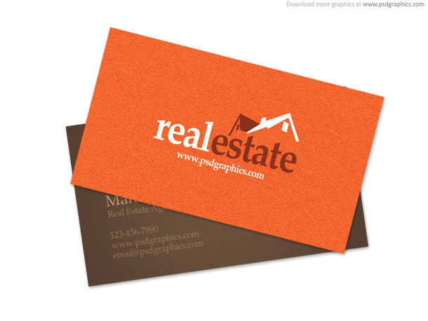 Outstanding Free Real Estate Business Card Templates Show WP - Real estate business card templates