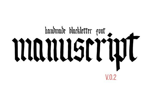 45 Premium Blackletter Fonts For Your Next Projects