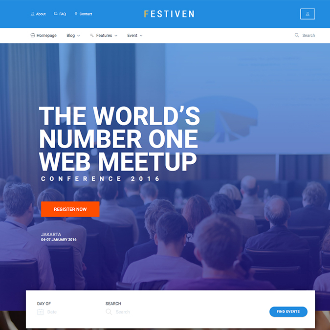 festiven wordpress theme