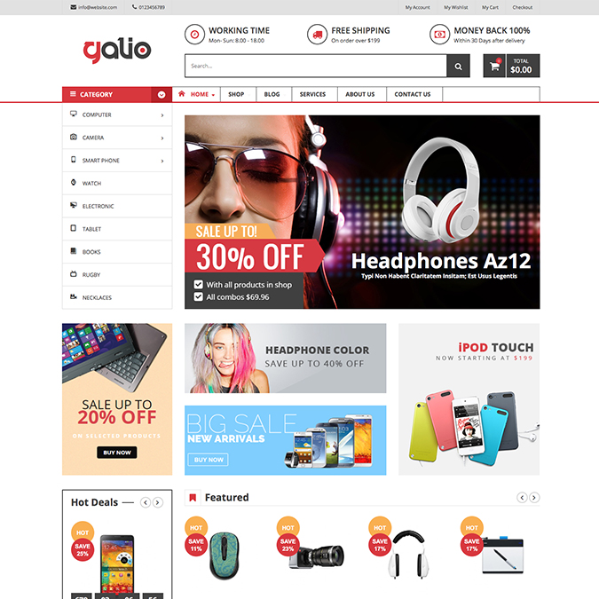 VG galio wordpress theme