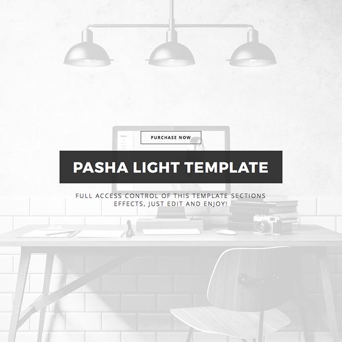 pasha wordpress theme