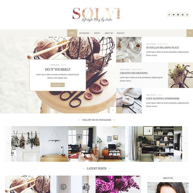 solvi wordpress theme