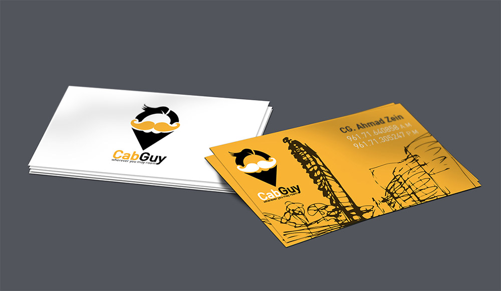 10 yellow color scheme free taxi business card template show wp 2 reheart Image collections