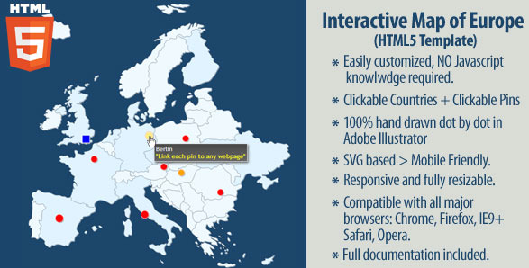 20 powerful html5 interactive world map examples show wp interactive map of europe gumiabroncs Images