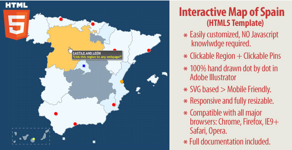 20 powerful html5 interactive world map examples show wp interactive map of spain gumiabroncs Image collections
