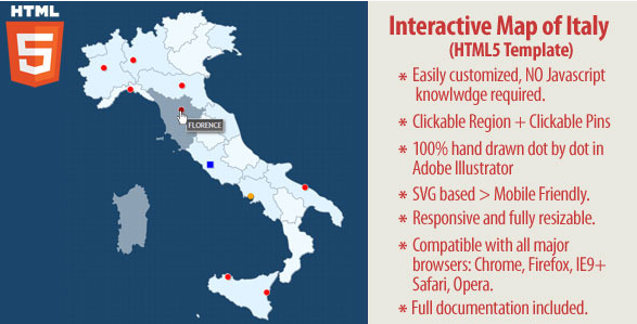 20 powerful html5 interactive world map examples show wp interactive map of italy gumiabroncs Images