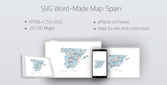 20 powerful html5 interactive world map examples show wp svg word made map spain gumiabroncs Images