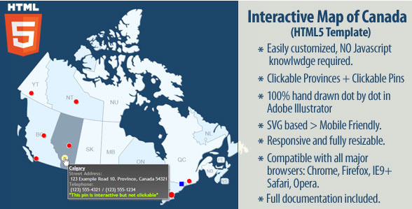 20 powerful html5 interactive world map examples show wp interactive map of canada gumiabroncs Choice Image