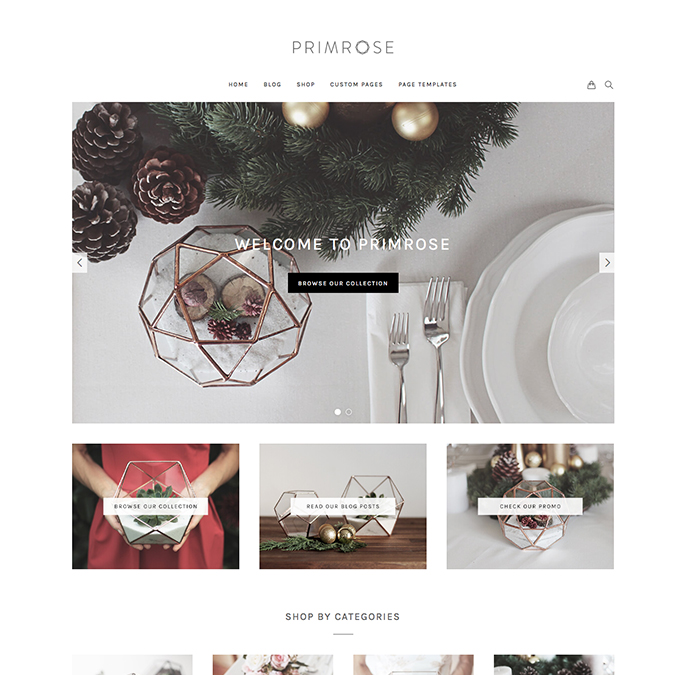 primrose wordpress theme