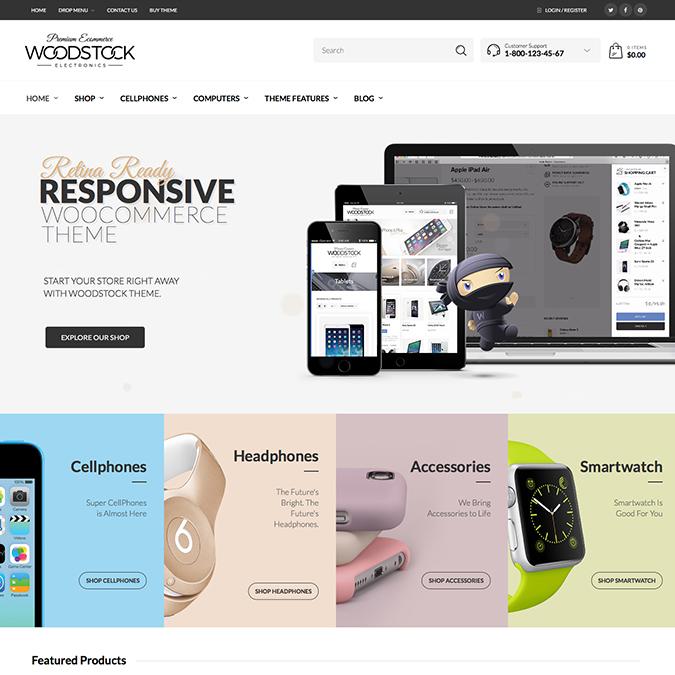 woodstock wordpress theme