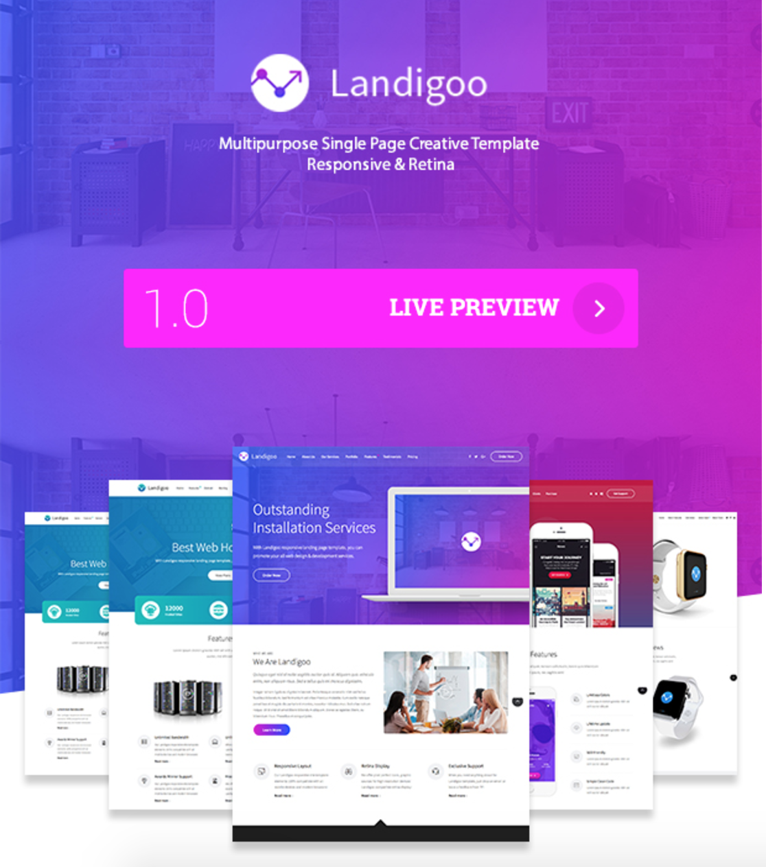 Landigoo Marketing Page