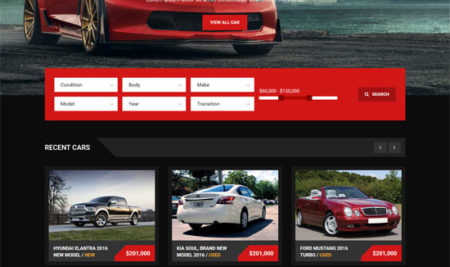 70+ Amazing Car Rental Website Template for automobiles industry