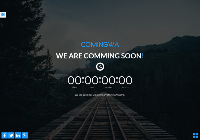 30 free html5 coming soon templates website under construction