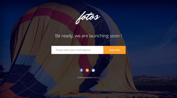 Fotos Website Launching Soon
