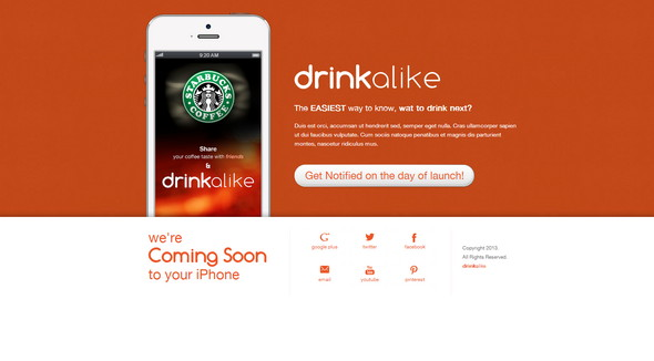 DrinkAlike The iPhone App