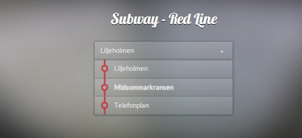 Subway – Red Line