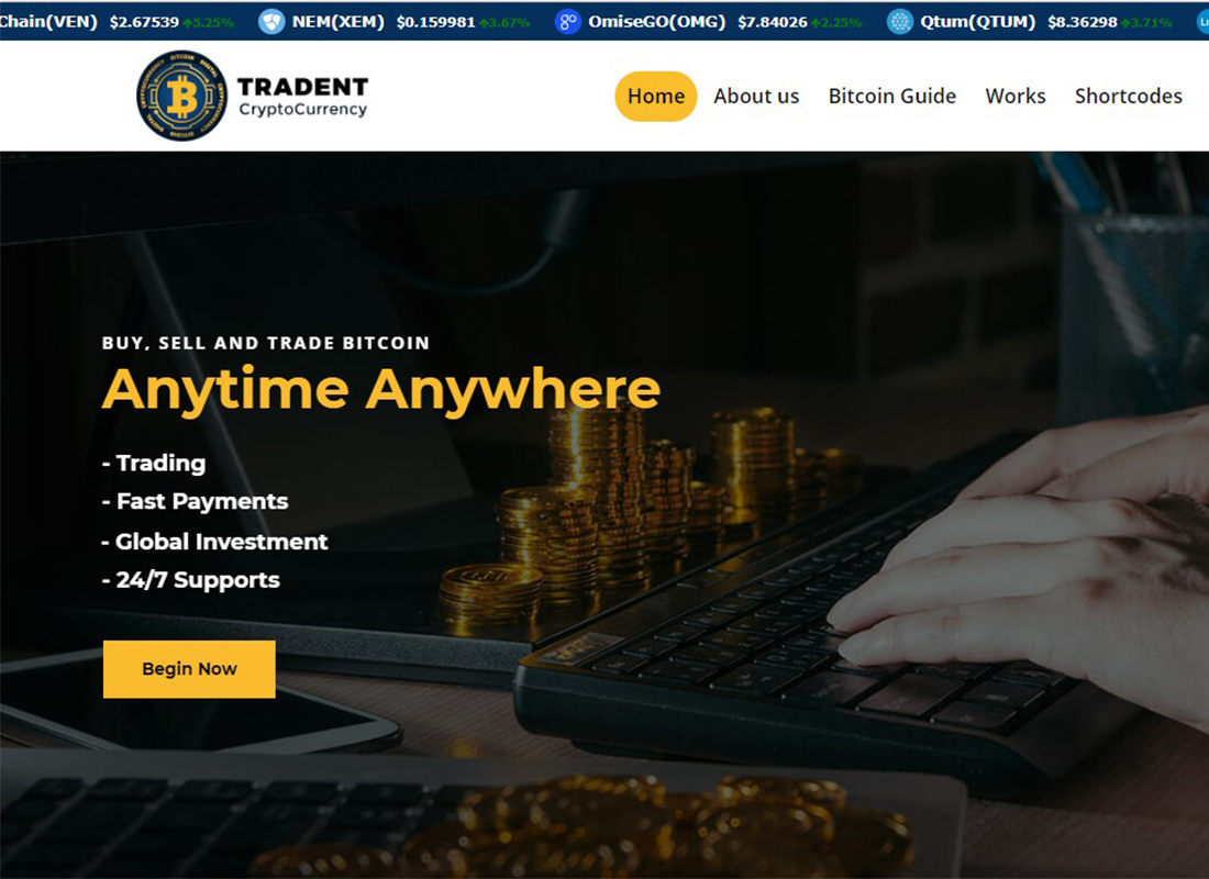 Tradent Cryptocurrency