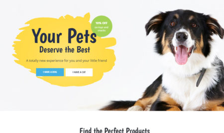 Pet Care and Pets Shop Online WordPress Themes