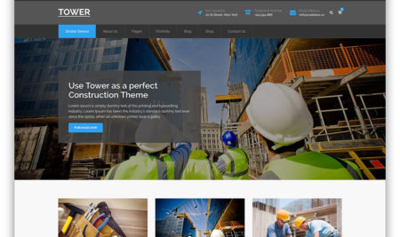 20+ Professional Building Construction WordPress Themes For Business