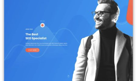 10+ Professional Resume WordPress Themes for portfolio and CV
