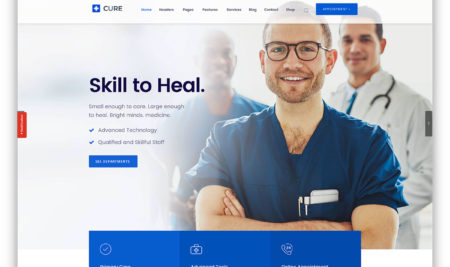25+ Medical and Health WordPress Themes